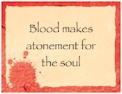 BloodMakesAtonement
